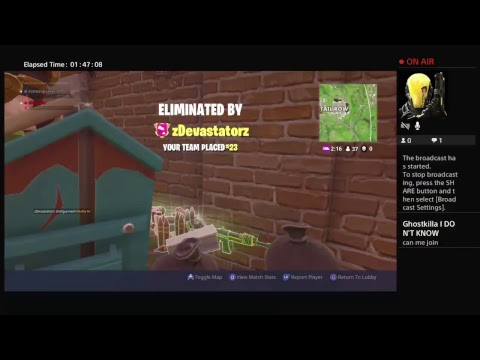 Playing Fortnite join