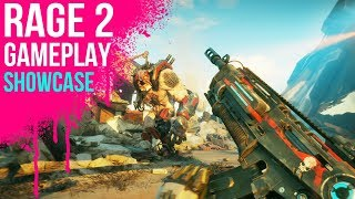 RAGE 2 - 4K PC Gameplay Showcase in Wasteland