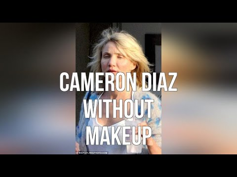 Cameron Diaz Without Makeup