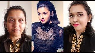 Alia Bhatt Inspired Makeup Look in 10 mints | Anindita Banerjee