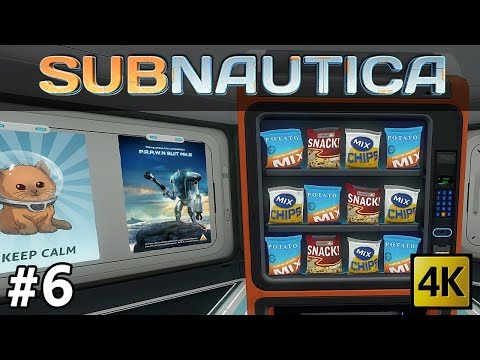 Subnautica | Wreck Dives, Snacks & Coffee and How To Get Diamonds  (Part 6) [4k]
