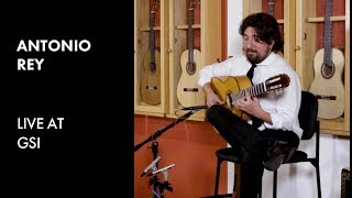 Antonio Rey live at GSI -