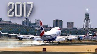 Approaching Dubai | New Flight Simulator 2017 - P3D 4.0 [Amazing Realism]