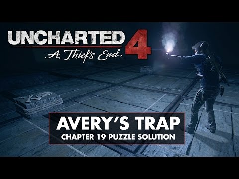 Uncharted 4 • Chapter 19 Puzzle Solution • Avery's Trap