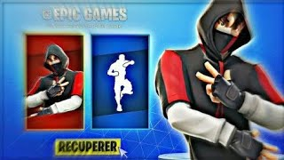 Live Personalized Party on Fortnite skin IKONIK won!!!!