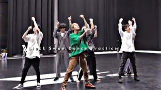 black swan dance practice