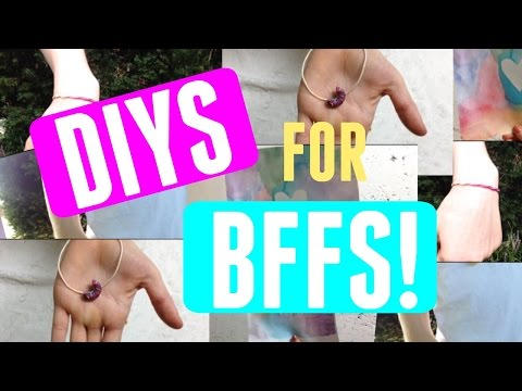 3 Easy DIY Gifts For Best Friends! Ava...