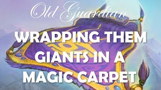 Wrapping them Giants in a Magic Carpet (Hearthstone Carpet Zoo gameplay)