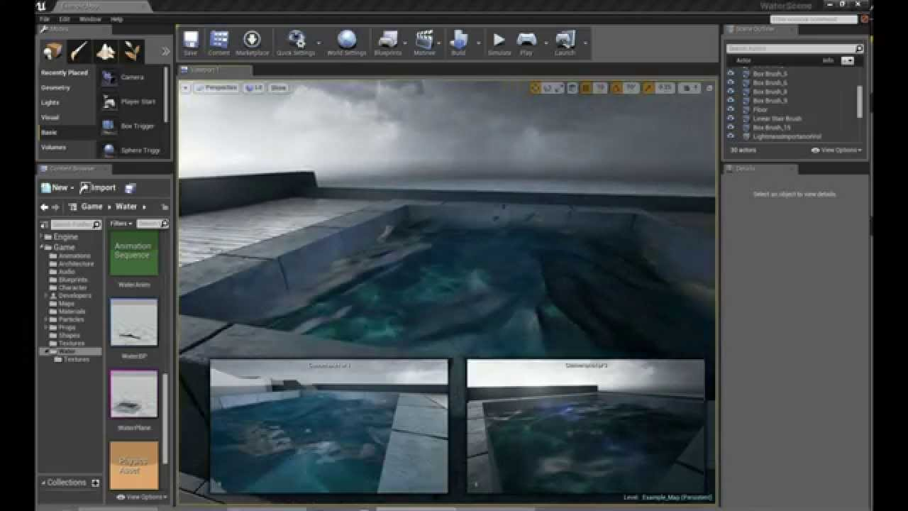 Water Material - Unreal Engine Forums