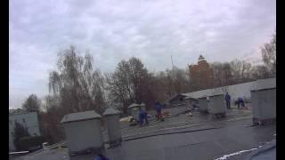 видео Гидроизоляция кровли: материалы для гидроизоляции крыши и технологии выполнения гидроизоляции