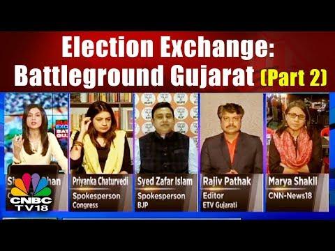 Election Exchange: Battleground Gujarat (Part 2)   CNBC TV18