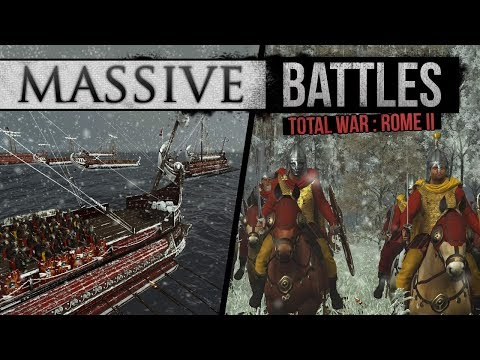 Total War: Rome 2 Empire Divided - Barbarian Hordes on Land and Sea (Massive Battles)