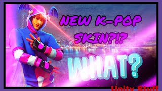 KPOP SKIN?!?! - Fortnite