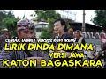 Lirik Dinda Dimana versi jawa - katon bagaskara