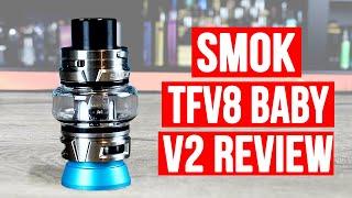 Smok TFV8 Baby V2 Sub Ohm Tank Review ✌️