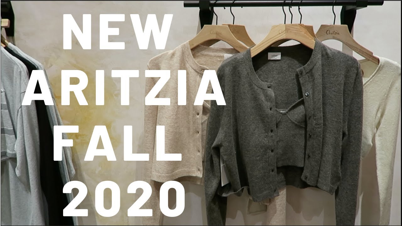 TRY ON ARITZIA FALL 2020| TNA DROP & WILFRED