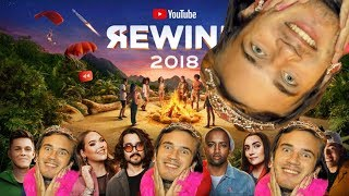Youtube Rewind 2018 but every time it's cringy Pewdiepie says Meme Review