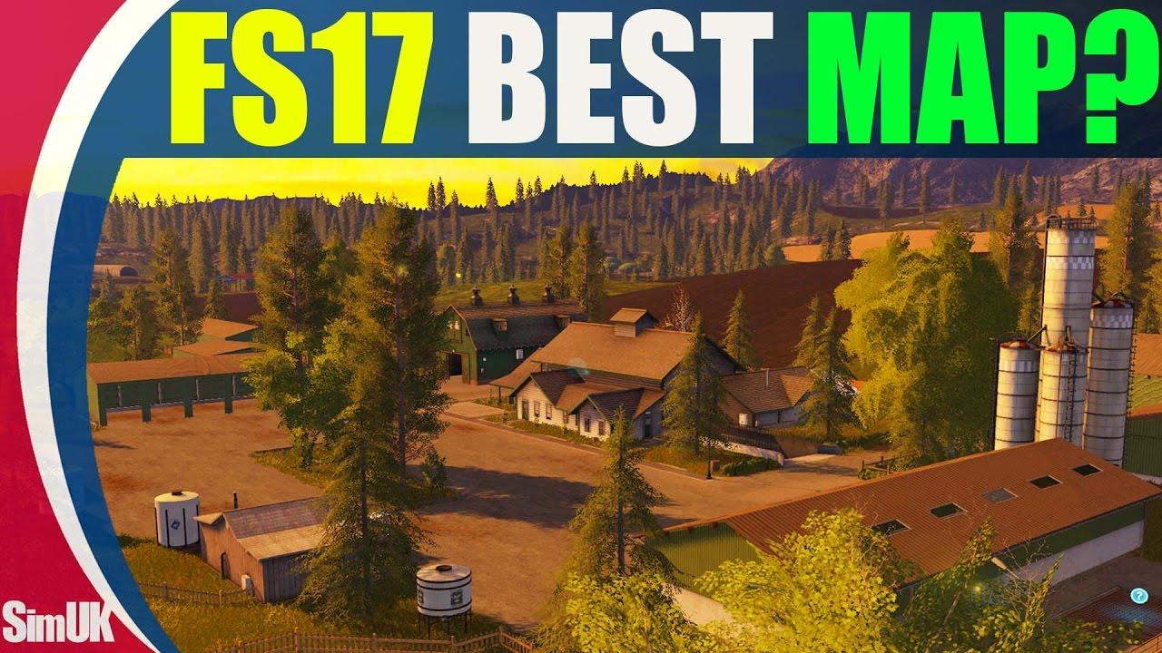 Farm Simulator 17 Best Map? Fichtelberg Review + Tour
