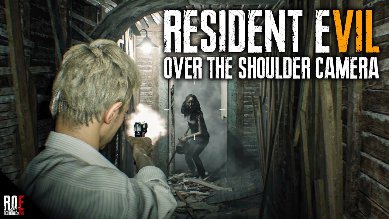RESIDENT EVIL 7 || Over The Shoulder Camera (3rd Person) MOD