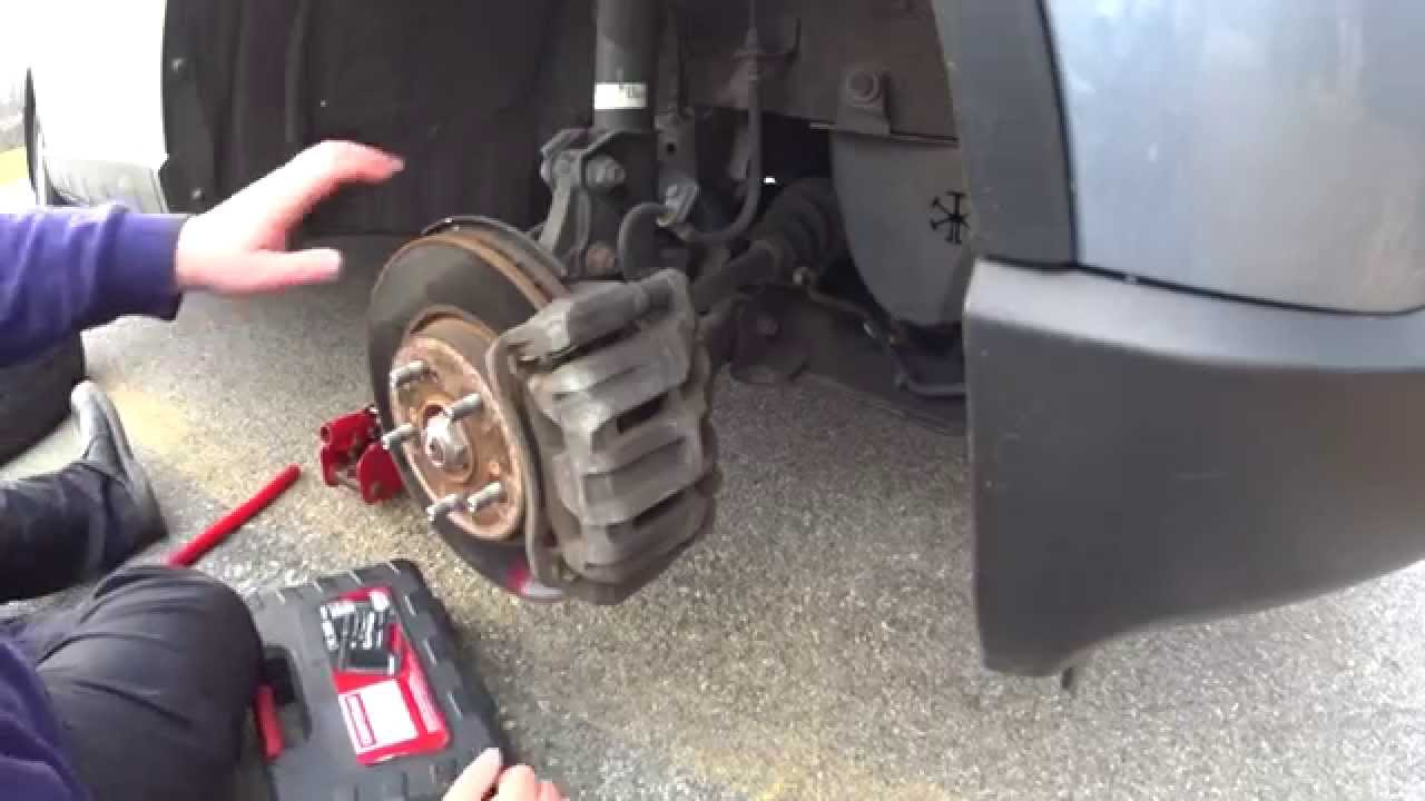 Cager time 2008 crv how to replace brake pads