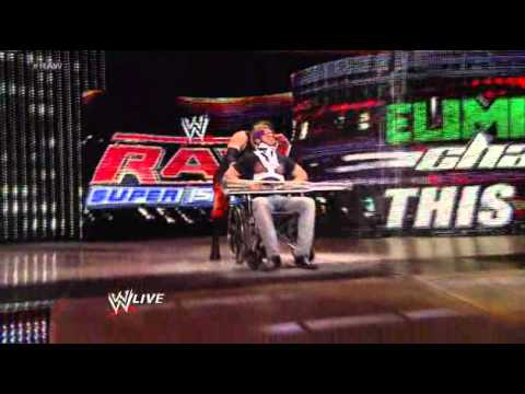 Raw: A distraught Zack Ryder is attacked again by Kane as John Cena watches