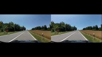 Switzerland 228 (Camera on board): Matran - Oron, by Romont (GoPro Hero2)
