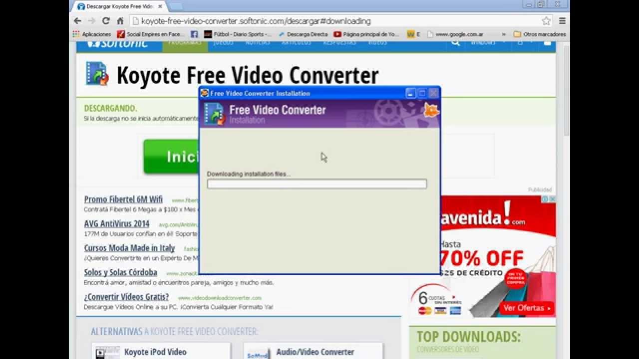 3.1.0.0 FREE VIDEO CONVERTER GRATUIT KOYOTE TÉLÉCHARGER