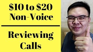 How to Earn Money Online Listening to Calls - Get Paid to Review Calls $10 to $20