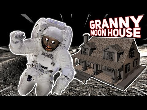 Granny Uses Her Money TO BUY A HOUSE ON THE MOON!!! | Granny The Mobile Horror Game (Mods)
