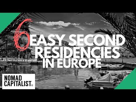 6 Easy Second Residencies in Europe