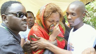 WEMA SEPETU Ashindwa Kujizua Kwenye Msiba Wa Mzee  MAJUTO