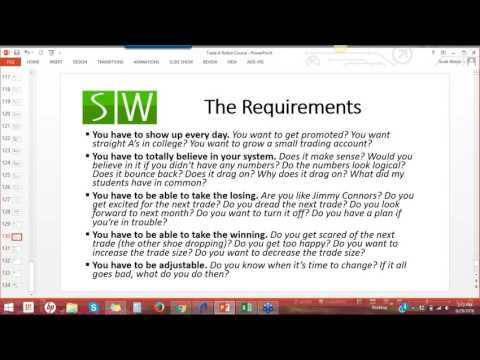 The Requirements Of High Expectations (Recording From 9/29/16)