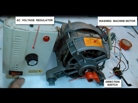 WASHING MACHINE MOTOR WIRING - YouTubeYouTube