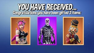FORTNITE GIFTING SYSTEM RELEASE DATE! HOW TO GIFT SKINS IN FORTNITE!