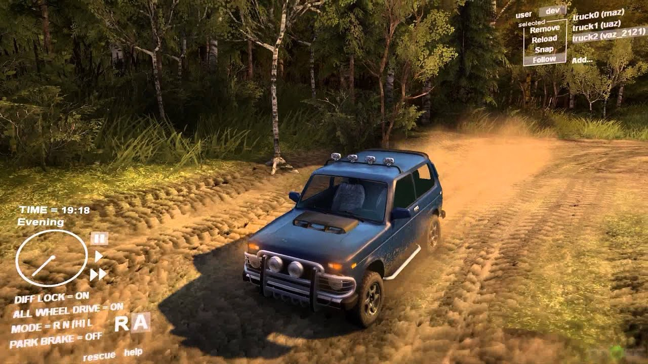 lada niva vaz 2121 tuning style off road spintires. Black Bedroom Furniture Sets. Home Design Ideas