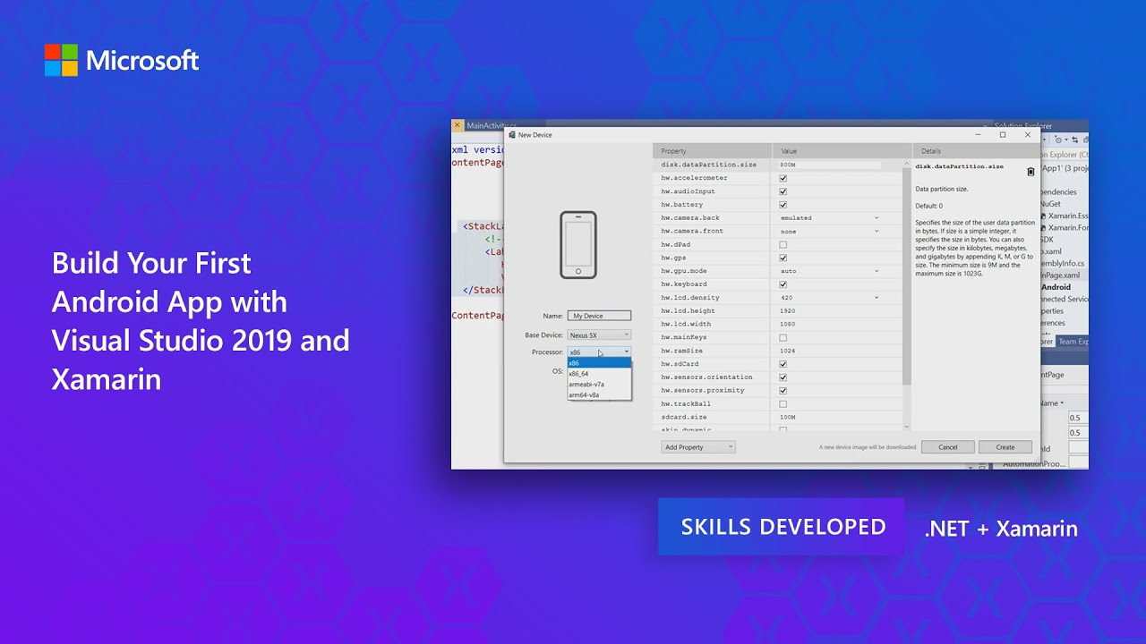 Installing Visual Studio 2019 for Mobile Development with .NET & Xamarin