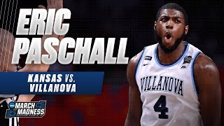Villanova's Eric Paschall was on fire in the Wildcats' Final Four victory