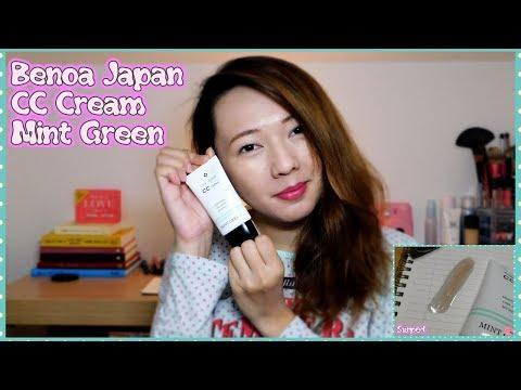 BENOA JAPAN Color Control CC Cream in Mint Green (Review)