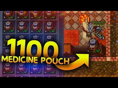 [PL] Tibia Opening   1100 Medicine Pouch!!!
