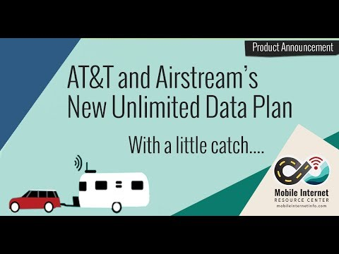 Airstream Connected Kit and $360/year Adventure Unlimited Data Plan - Now Available