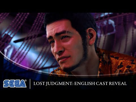 Lost Judgment   English Cast Reveal