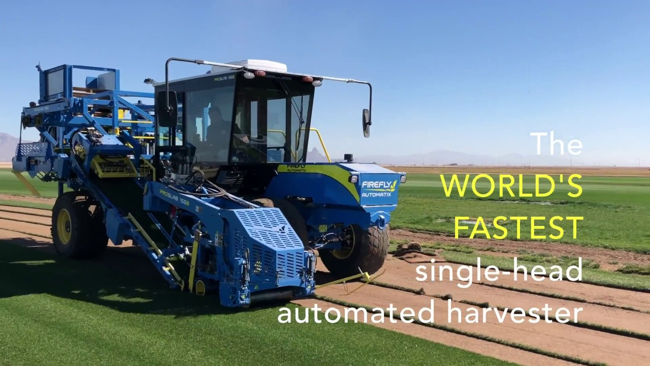 FireFly ProSlab 155B with Double Stacker
