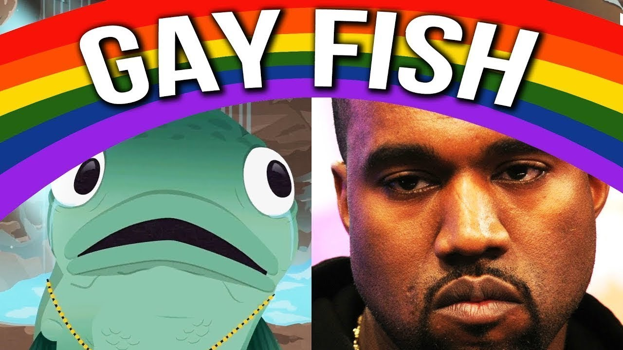 Kanye West - Gay Fish SP Comedy Parody Video