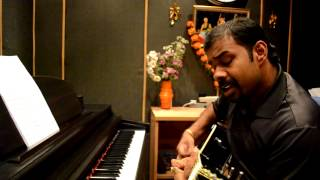 Anuraagathin velayil--Guitar cover by Joby