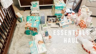 HUGE BABY ESSENTIALS HAUL FOR FIRST BABY