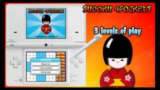 Sudoku 4Pockets for the Nintendo DSi with 3600 Puzzles