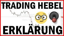 Was ist ein Trading Hebel? - Erklärung und Berechnen für CFD/Forex Anfänger