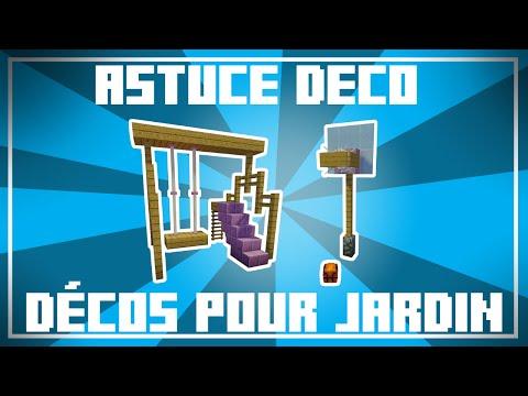 Astuce Déco - 9 Idées de DÉCO POUR JARDIN dans Minecraft ...