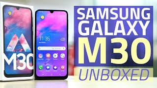 Samsung Galaxy M30 Unboxing and First Look | Price, Camera, Specifications, and More