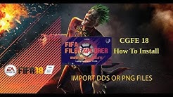 How To Install CGFE 18 and Import DDS or PNG Files